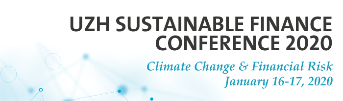 UZH Sustainable Finance Conference 2020 Banner